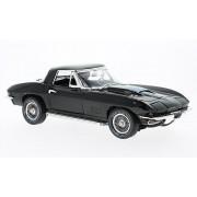 Autoworld AMM1099 1:18 1967 Chevrolet Corvette Roadster Black MCACN