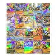 Alcoa Prime Pop 20pcs Pokemon EX Card All MEGA Holo Flash Trading Cards Charizard Venusaur