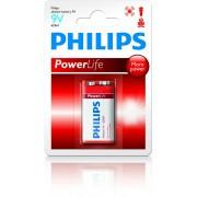 Philips Baterie 9V Philips Power Life 1ks (blistr)