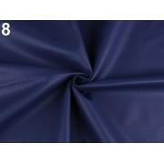 Ekobőr anyag táskákhoz, dekorációkhoz, 140cm/0.5m, sötét kék, 380735-8