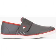 Fila Rock In Men's Gray Red Slip on Casual Shoes