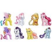 My Little Pony Friendship is Magic Pinkie Pie, Fluttershy, Rainbow Dash, Applejack, Nurse Red Heart, Rarity, Sterling & Gold Lily Figure Bundle