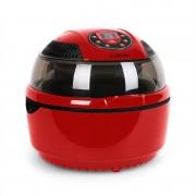 Klarstein VitAir уред за готвене с горещ въздух 1400W грил и печене, червен (TK20-VITAIRFRYER-RED)