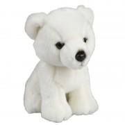 Merkloos Witte ijsberen knuffels 18 cm knuffeldieren