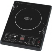 V-Guard VIC 07 (1600 W) Induction Cooktop(Black, Push Button)