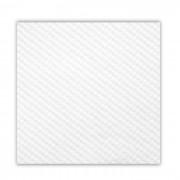 AZ boutique Serviette blanche en papier tissu 1 pli 30 x 30cm - Lot de 100 - Serviettes jetables - AZ boutique