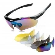 Gafas De Sol Deportes ROBESBON Exterior Resina PC Lente UV Marco Polarizados