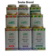 Prickly Heat Powder Original Snake Brand Hot Weather Herbal Talc