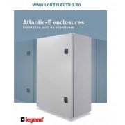 TABLOU METALIC DE EXTERIOR IEFTIN LEGRAND ATLANTIC 500x400X200 MM, COD 039939, IP 55