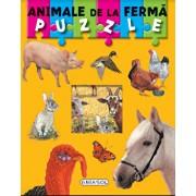 Puzzle - animale de la ferma/***