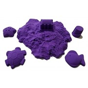 JM Future Refill Space Sand/Moon, Crazy Magic Mold-N-Play Educational Creative Fun Kids Toy Diy, 2 lb., Purple