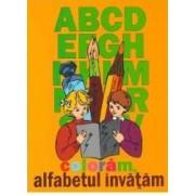 Coloram alfabetul invatam