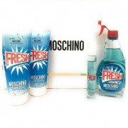 Moschino Fresh Couture 100ml Apă De Toaletă + 100ml Loțiune de corp + 100ml Gel de duș + 10ml Apă De Toaletă Set