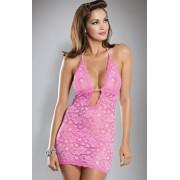 Brilliant Jennifer chemise pink komplet (różowy)