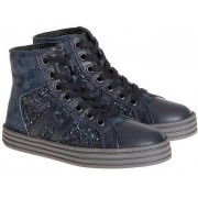 Hogan Rebel Suede Sneakers Blue