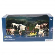 Set 7 figurine Animalute de la ferma National Geographic, 3 ani+