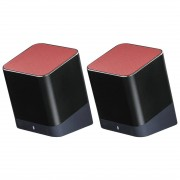 Boxa portabila Hama Twins Bluetooth Black / Red