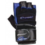 Fitness rukavice Spokey crno/plave