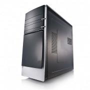Unitate PC desktop clasica, cu tastatura si mouse