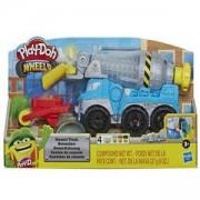Детски комплект с пластелин Play Doh - Камион за цимент, 0330712