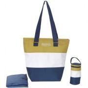 Fisher Price Preppy Green shopper mother Bag/ diaper bag / shoulder bag