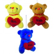 Caris Soft Giant Hug Teddy Bear with Love Set of 3