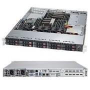 Supermicro 1028R-WTNRT Intel® C612 LGA 2011 (Socket R) 1U Nero