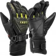 Leki Junior Glove RACE COACH C-TECH S black/ice lemon