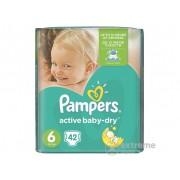 Pampers Active Baby-Dry Pelene 6 Extra Large 42 komada