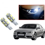 Auto Addict Car T10 9 SMD Headlight LED Bulb for Headlights Parking Light Number Plate Light Indicator Light For Audi A4