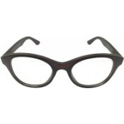 Devizer Optics Cat-eye Sunglasses(Clear)