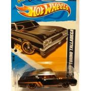 2012 Hot Wheels Muscle Mania '69 Ford Torino Talladega - Black