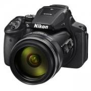 Фотоапарат Nikon Coolpix P900, 16.0 мегапиксела, 83x оптичен зуум, 24мм широкоъгълен обектив, 3.0 подвижен LCD дисплей, EVF, Wi-Fi