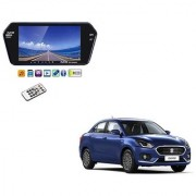 7 Inch Full HD Bluetooth LED Video Monitor Screen with USB and Bluetooth For Maruti Suzuki Swift Dezire 2017