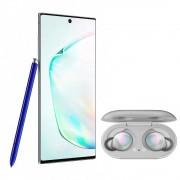 Samsung Galaxy Note 10 256GB Desbloqueado - Silver + Galaxy Buds Grises