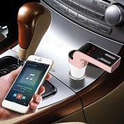 Modulator FM 8 in 1 cu Bluetooth si Telecomanda