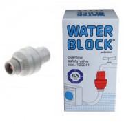 Aquastop , mechanikus vízbiztonsági csatlakozó