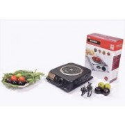 BRIGHTBERG RADIANT COOK TOP BLACK Radiant Cooktop(Black, Jog Dial)