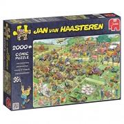 Jan Van Haasteren - Lawn Mower Race - 2000 pcs Jigsaw