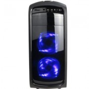 Кутия chassis delux ds 410 midi tower, atx, usb2.0, without psu, черна, ds-410