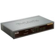 Switch D-Link DES-1008PA, 8 porturi, 4 x PoE