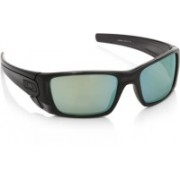 Oakley Round Sunglass(Blue, Green)