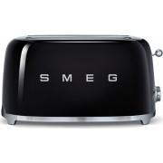 Smeg TSF02BLUK 50's Retro Style 4 Slice Toaster - Black