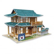 Cubicfun Cubic Fun 3d Puzzle Model 46pcs Pastry Shop in South Korea