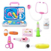 BARGAIN HOUSE Bargain Housecute Nurse Pretend Play Toy Medical Doctor Kit Play Set, Perfect for Role Playing