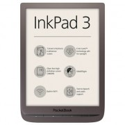 "EBook Reader PocketBook Inkpad 3, 7.8"" E Ink Carta,, 8GB, audio out, SMARTlight, Maro"