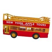 New Your Apple Tours Double Decker Bus