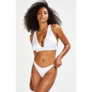 Hunkemöller Slip de bikini échancré Lola Blanc taille: XS