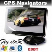 GPS навигация Fly StaR E8BT - 5'' HD + BLUETOOTH + 4GB