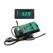 Digitálny teplomer s nastaviteľným alarmom pre vysokú a nízku teplotu